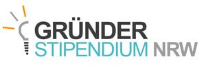 Logo des Gründerstipendiums NRW