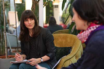 Evelyn Funk - Forscherin, Evaluatorin und Trainerin am PME-Campus