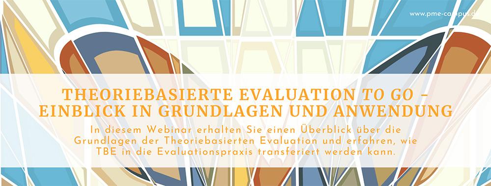 In unserem 2,5-stündigen Webinar erhalten Sie einen fundierten Überblick zu den Grundlagen der Theoriebasierten Evaluation und einen Einblick, wie diese Herangehensweise in die Evaluationspraxis transferiert werden kann.